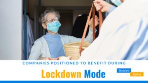 Companies Benefit During Lockdown